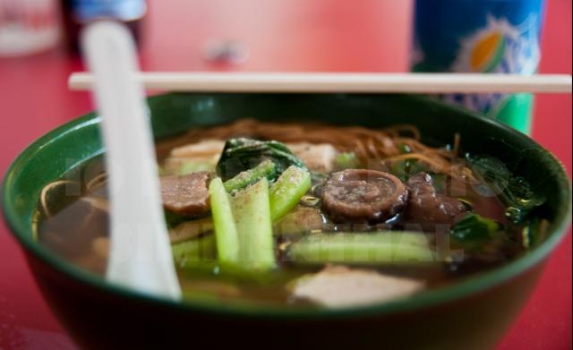Zuppa cinese di verdure