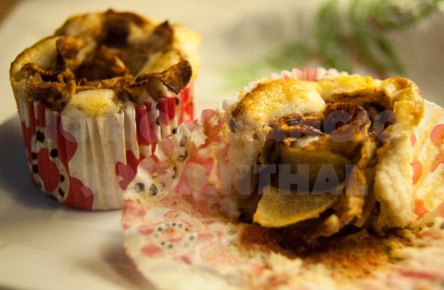 muffin mele cannella senza uova e burro_02
